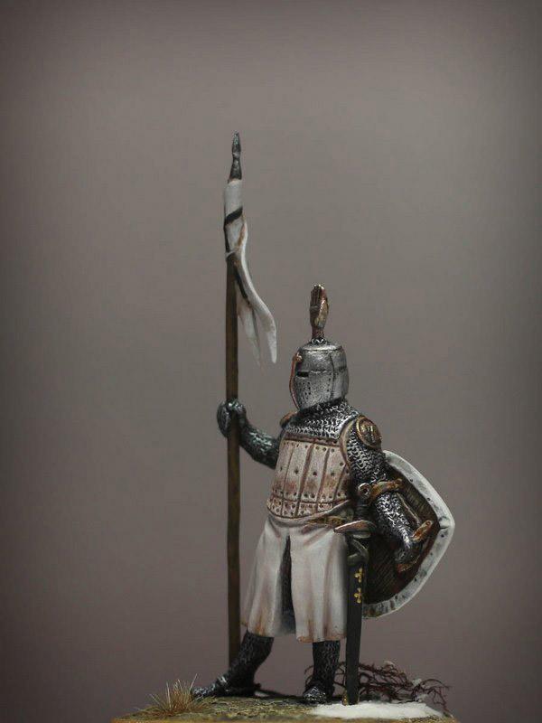 Figures: Сommander of Teutonic order, XIII cent., photo #2