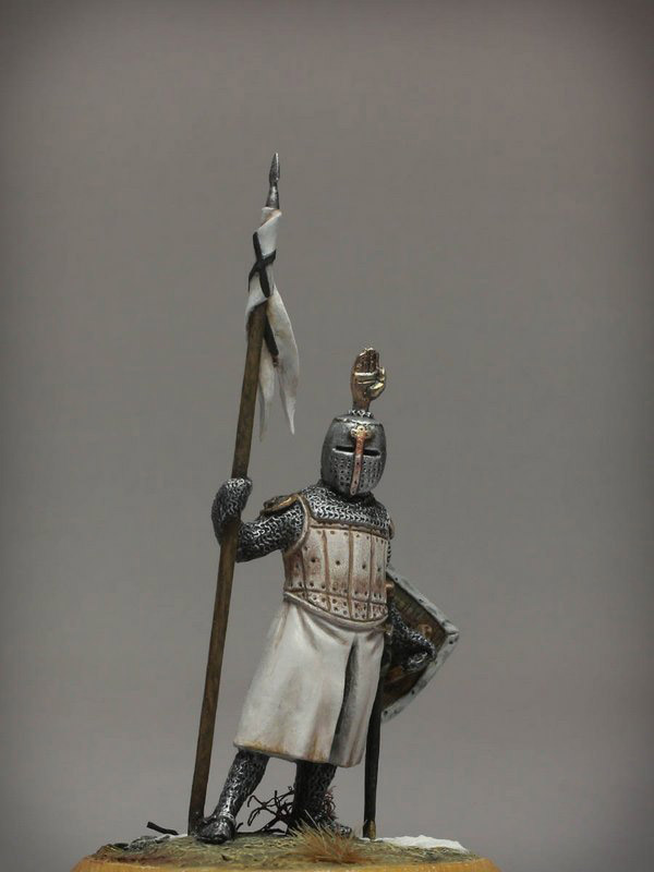 Figures: Сommander of Teutonic order, XIII cent., photo #5