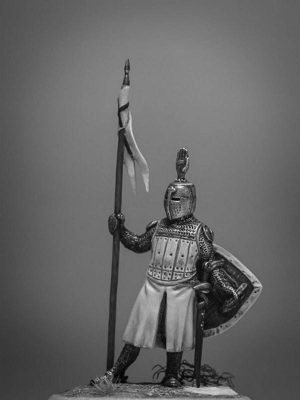 Figures: Сommander of Teutonic order, XIII cent., photo #6
