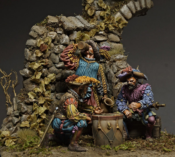 Dioramas and Vignettes: The Gamers