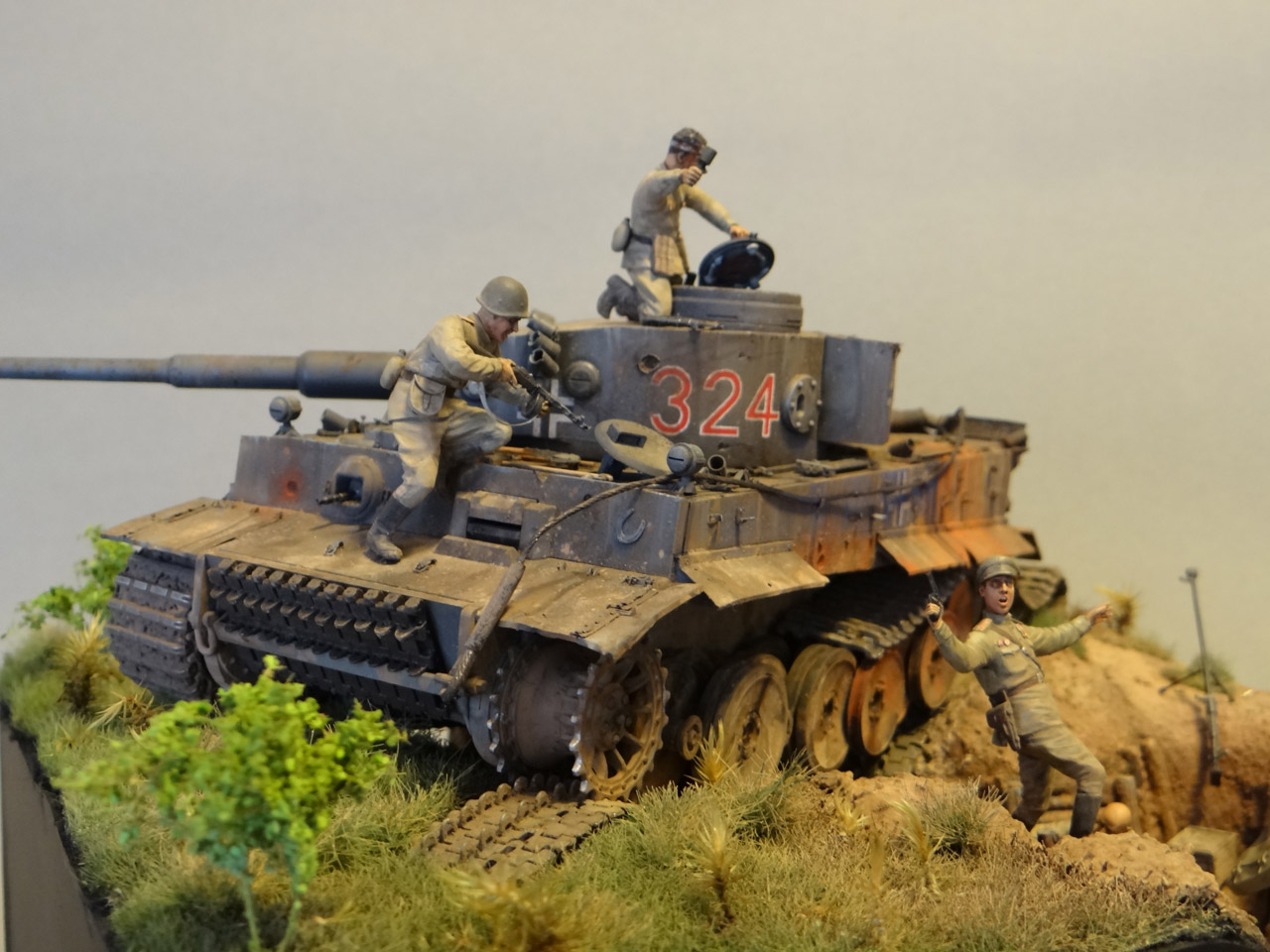 Dioramas and Vignettes: Tiger tamers, photo #10