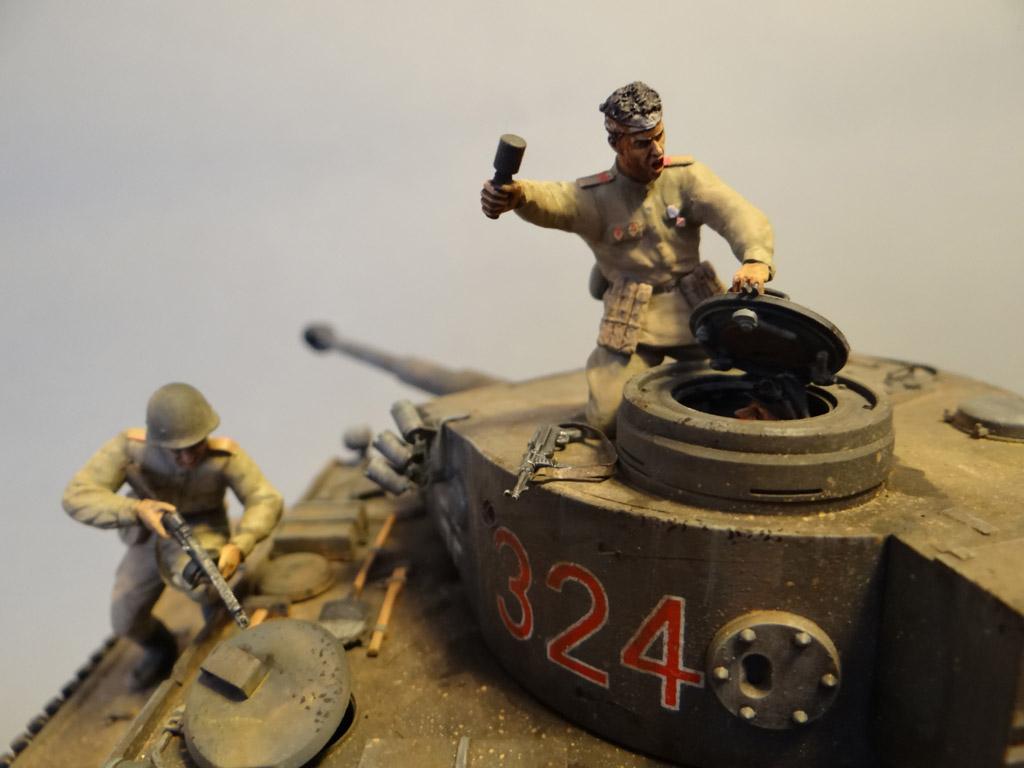 Dioramas and Vignettes: Tiger tamers, photo #12