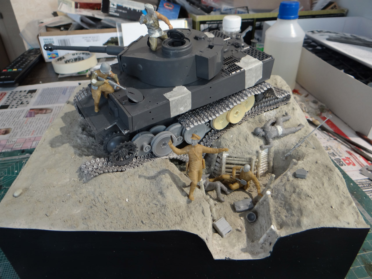 Dioramas and Vignettes: Tiger tamers, photo #17