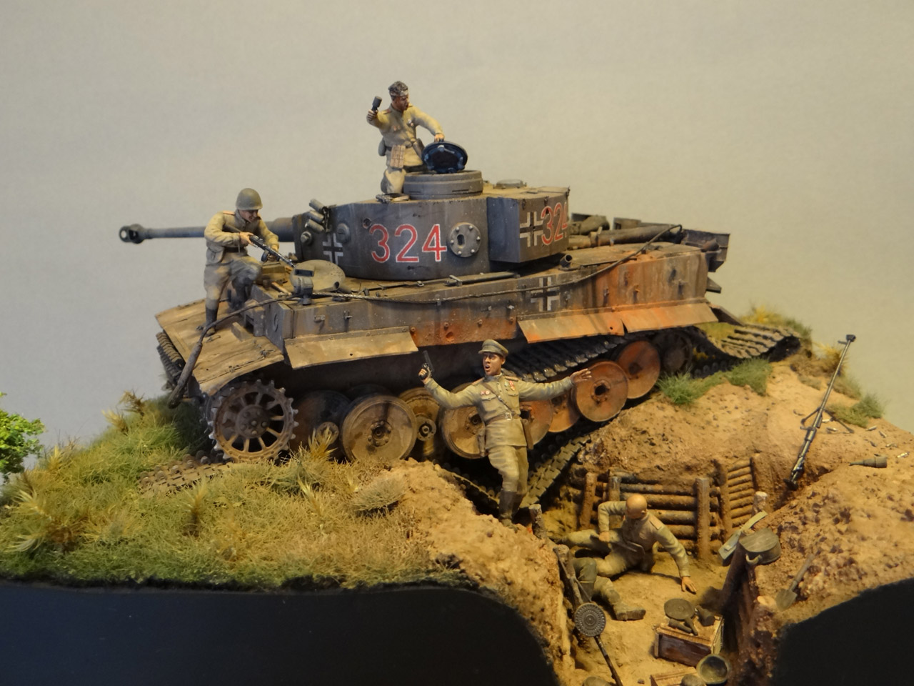 Dioramas and Vignettes: Tiger tamers, photo #3