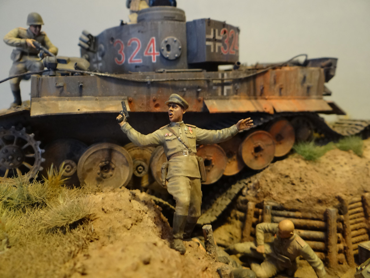 Dioramas and Vignettes: Tiger tamers, photo #4