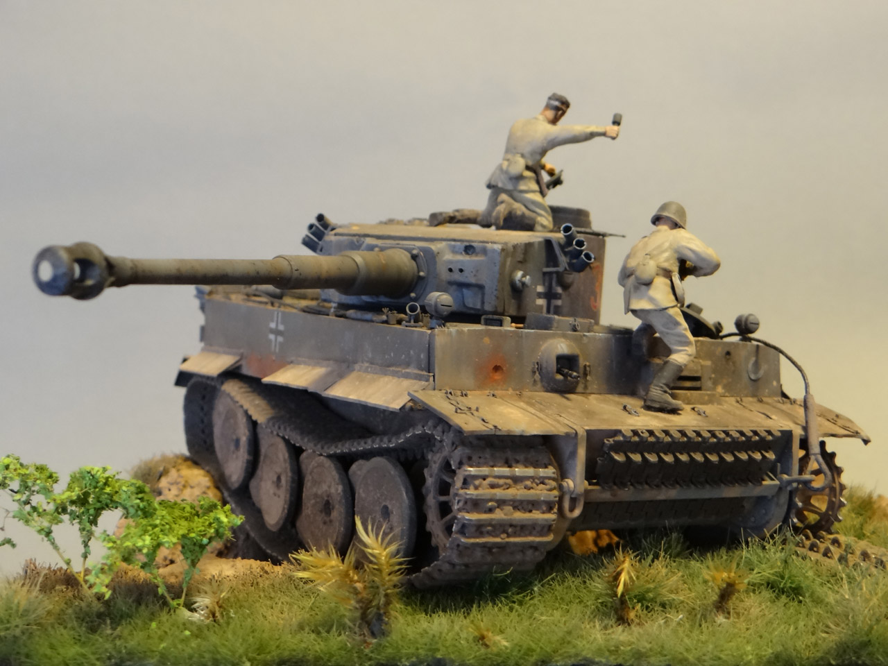 Dioramas and Vignettes: Tiger tamers, photo #5