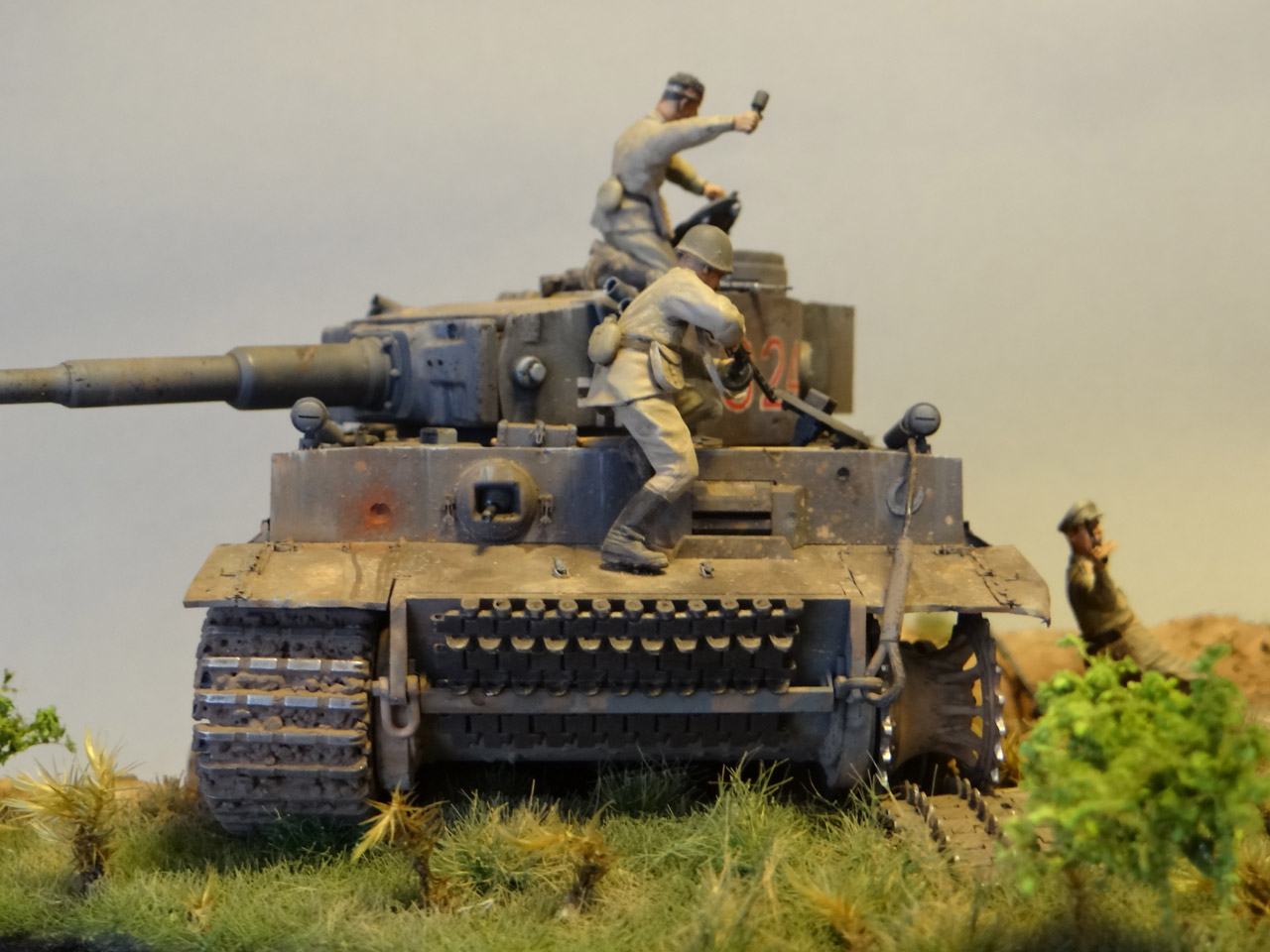 Dioramas and Vignettes: Tiger tamers, photo #6