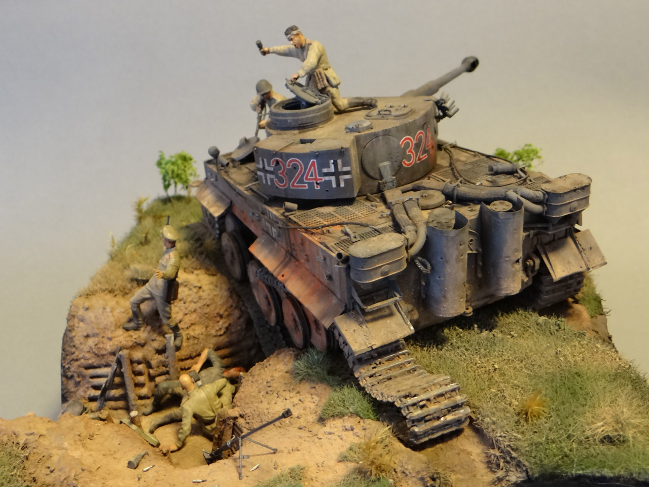 Dioramas and Vignettes: Tiger tamers, photo #9