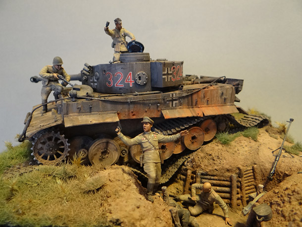 Dioramas and Vignettes: Tiger tamers