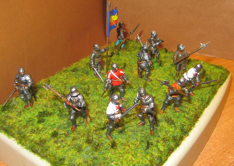 Figures: Foot knights, late Middle ages, photo #2