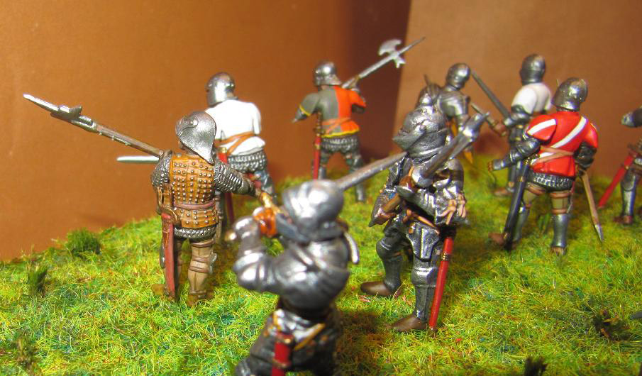 Figures: Foot knights, late Middle ages, photo #8