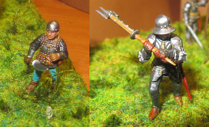 Figures: Foot knights, late Middle ages, photo #9