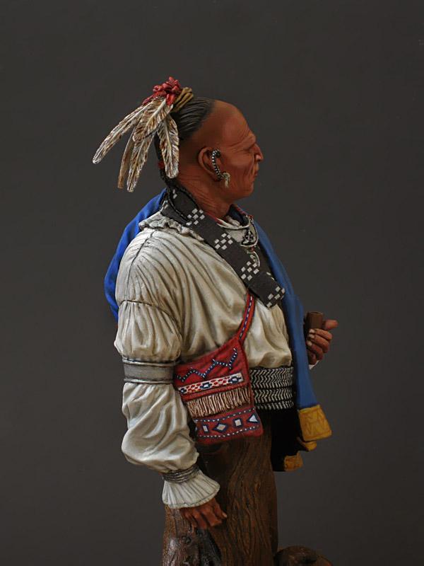 Figures: Cherokee chief, photo #6