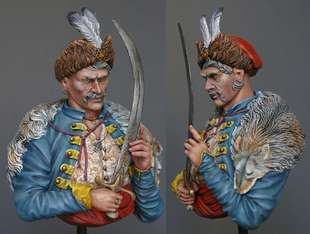 Figures: Cossacks colonel, XVII century