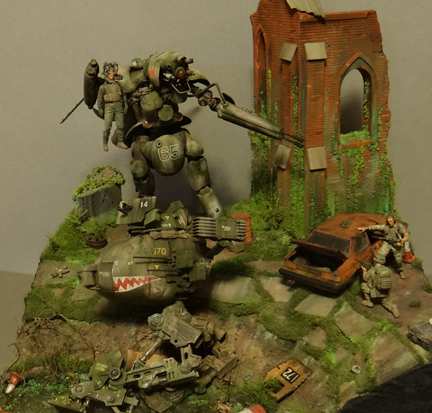 Dioramas and Vignettes: Help!..