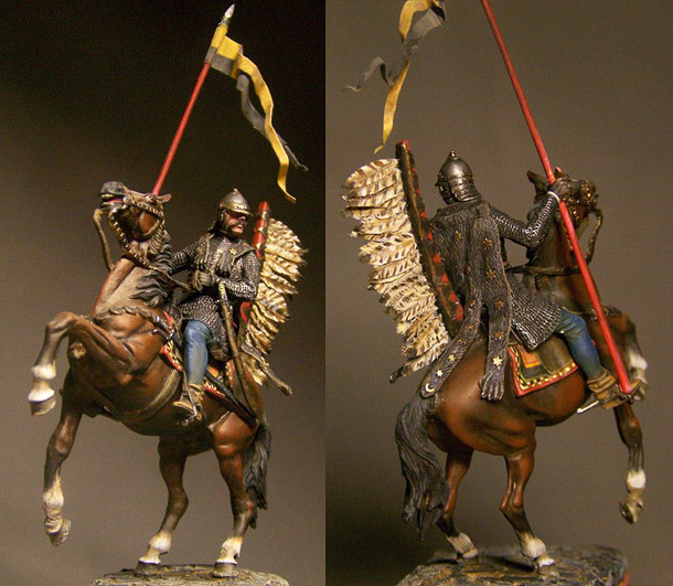 Figures: Polish winged hussar