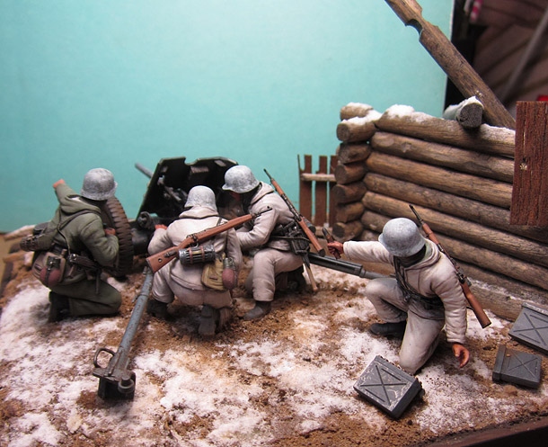Dioramas and Vignettes: Feuer!