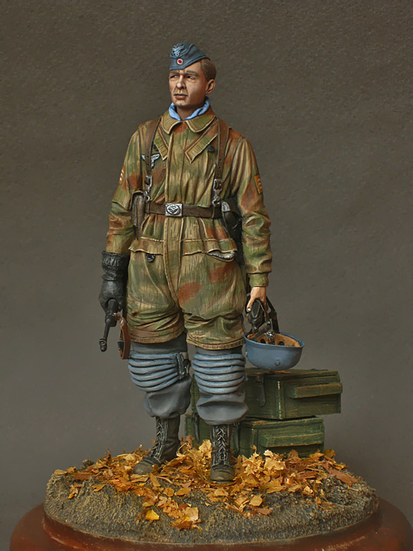 Figures: Fallschirmjagers feldwebel, 1943-45, photo #3