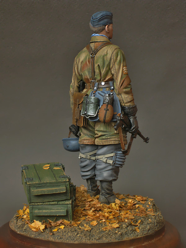 Figures: Fallschirmjagers feldwebel, 1943-45, photo #6