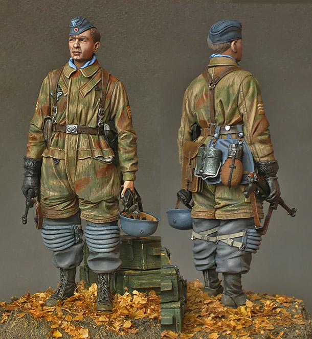 Figures: Fallschirmjagers feldwebel, 1943-45