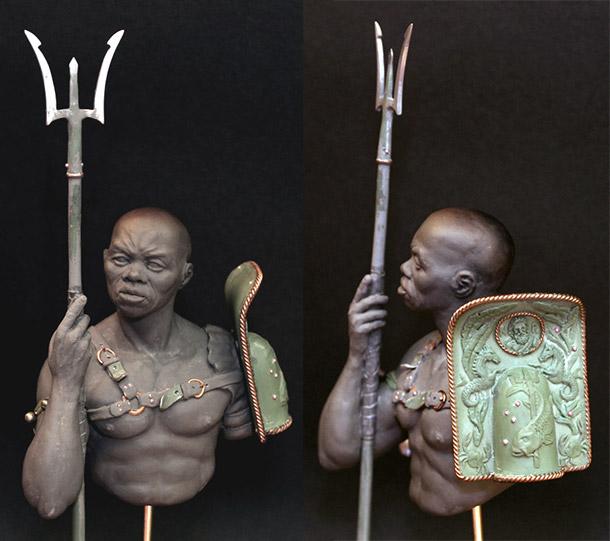 Sculpture: Retiarius