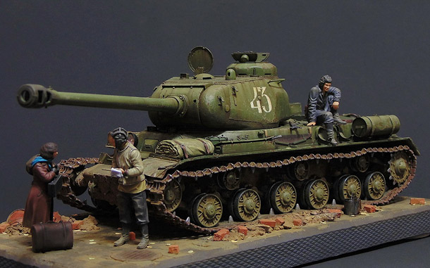 Dioramas and Vignettes: JS-2 early