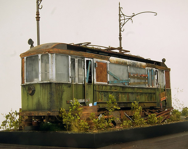 Dioramas and Vignettes: There once lived a tram...