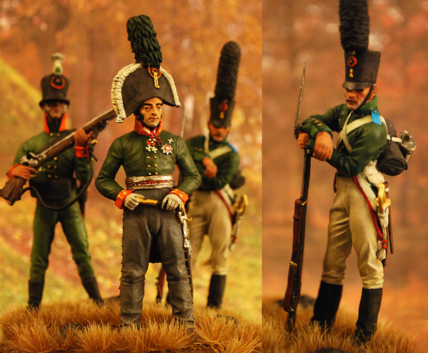 Dioramas and Vignettes: In the vanguard