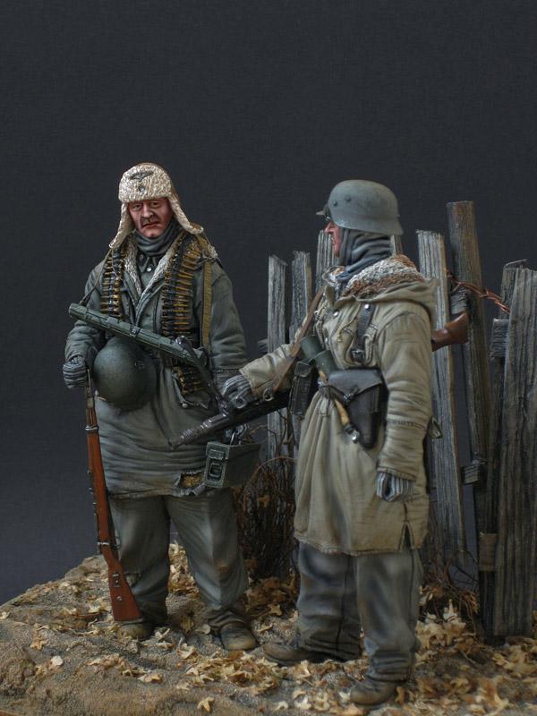 Figures: Machine gun crew, SS div. Totenkopf, 1943-44, photo #3