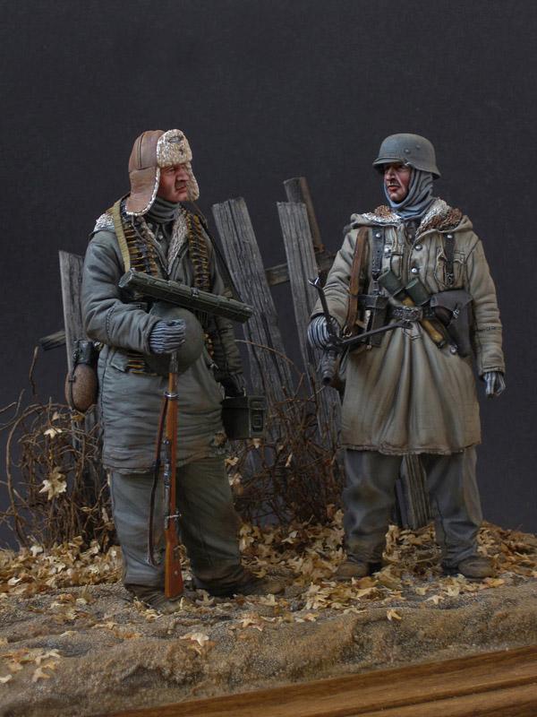 Figures: Machine gun crew, SS div. Totenkopf, 1943-44, photo #4