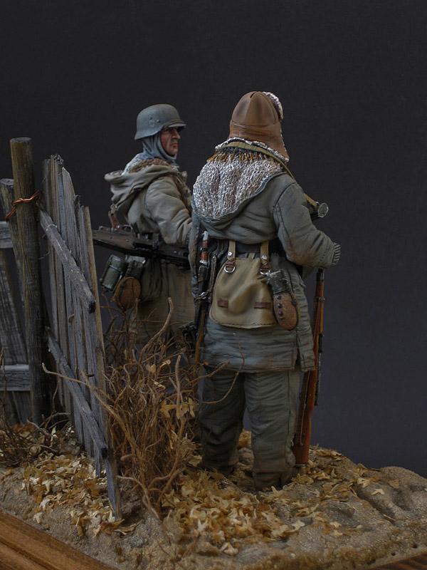 Figures: Machine gun crew, SS div. Totenkopf, 1943-44, photo #6