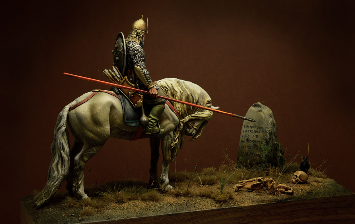 Dioramas and Vignettes: Knight at the crossroads, photo #1