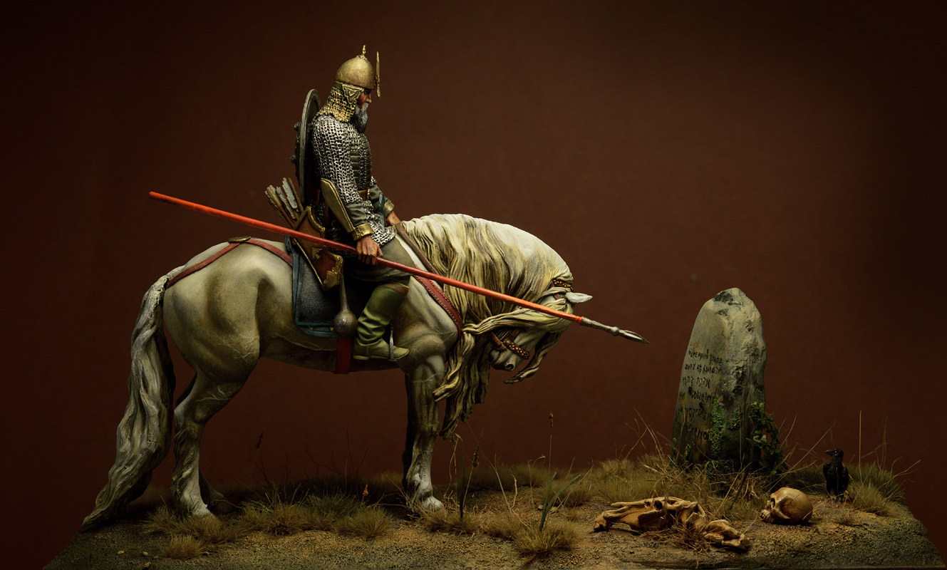 Dioramas and Vignettes: Knight at the crossroads, photo #2