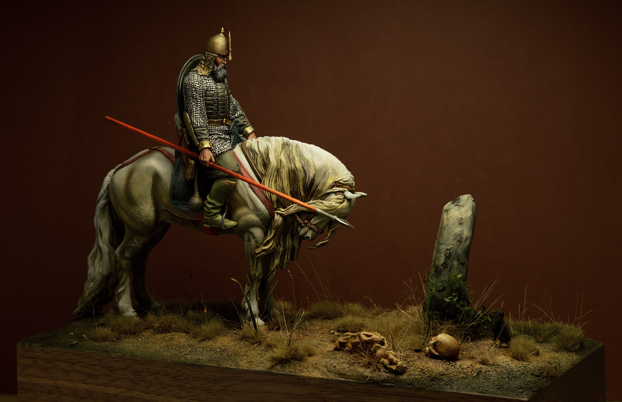 Dioramas and Vignettes: Knight at the crossroads, photo #3