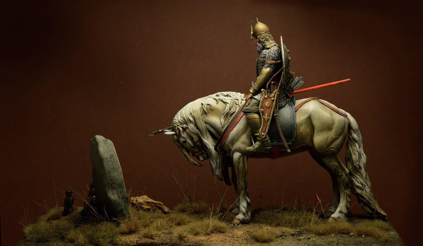 Dioramas and Vignettes: Knight at the crossroads, photo #5