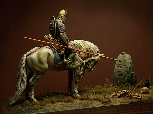 Dioramas and Vignettes: Knight at the crossroads