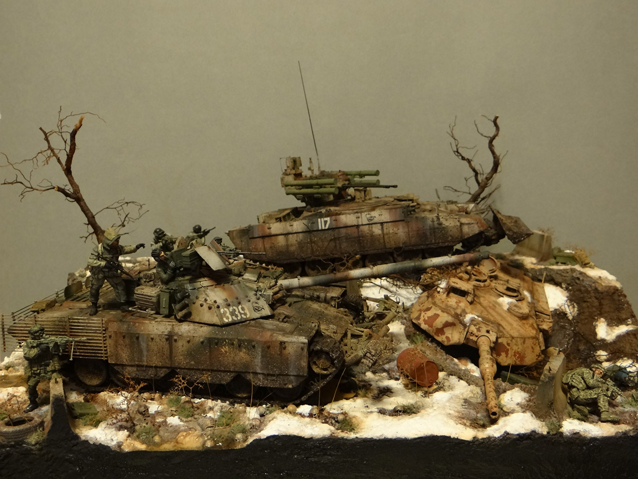 Dioramas and Vignettes: Russian spring, photo #1