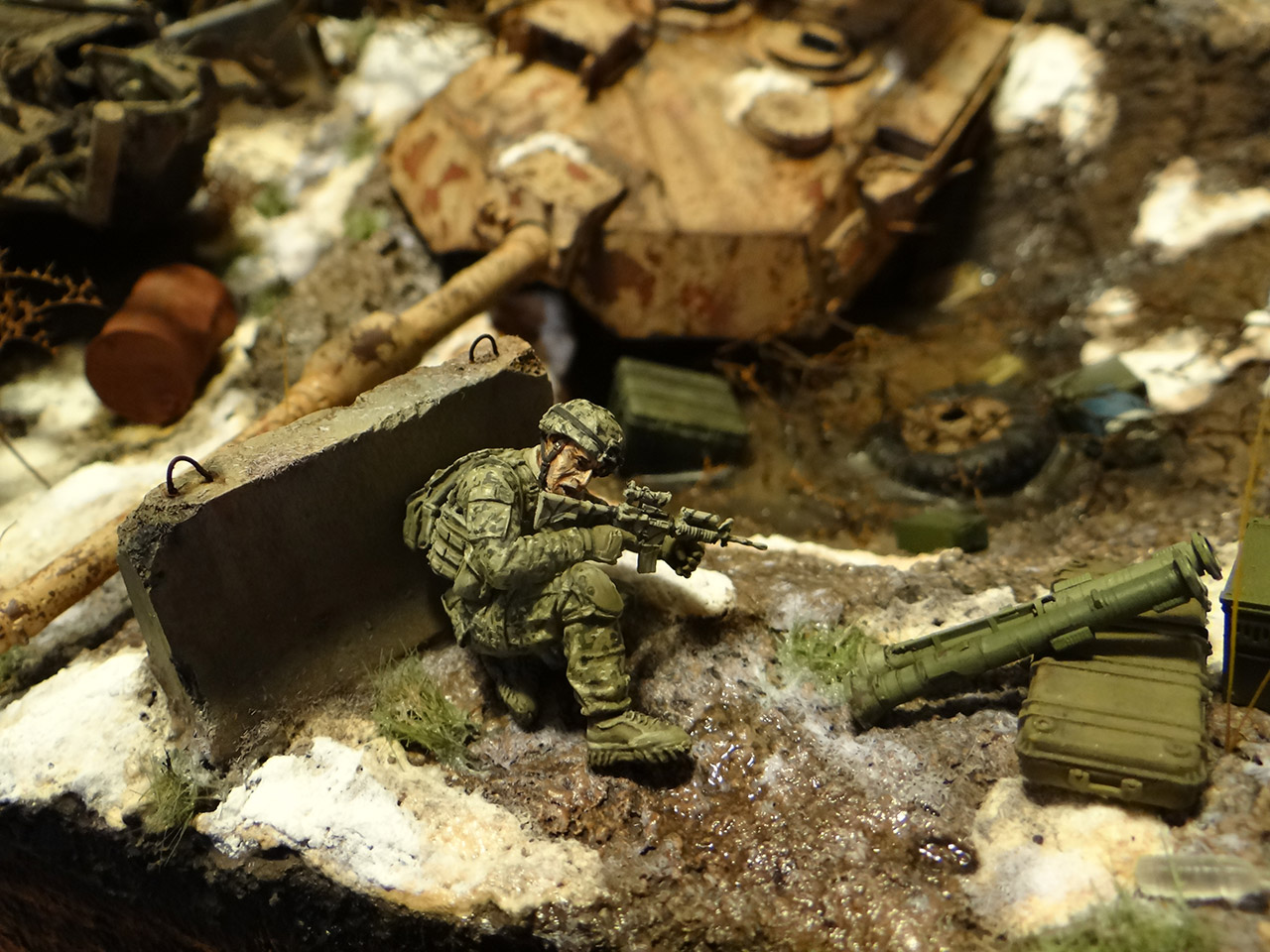 Dioramas and Vignettes: Russian spring, photo #12