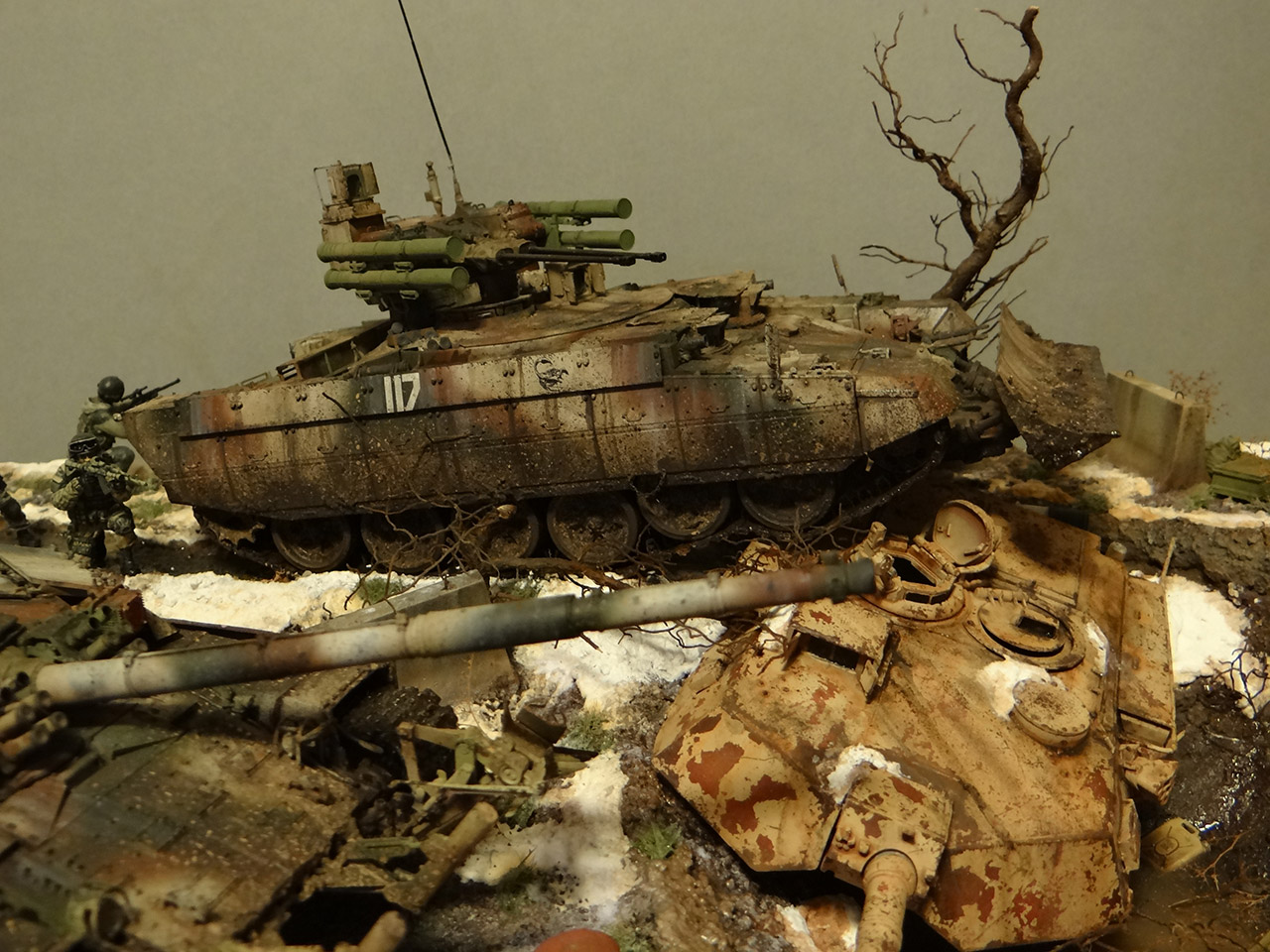 Dioramas and Vignettes: Russian spring, photo #14