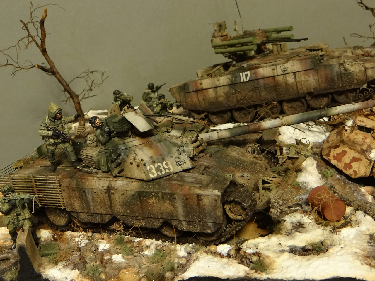 Dioramas and Vignettes: Russian spring, photo #6