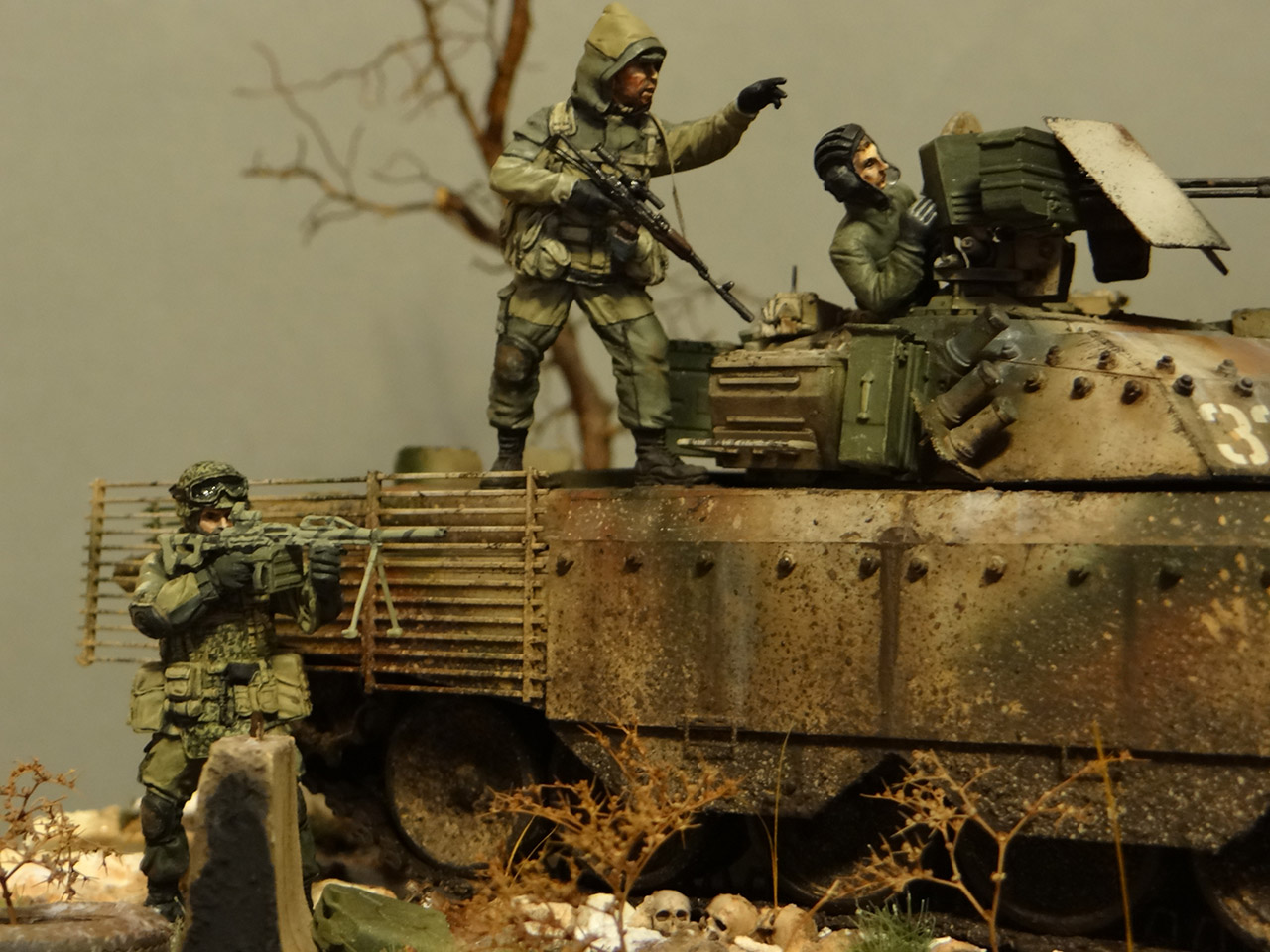 Dioramas and Vignettes: Russian spring, photo #7
