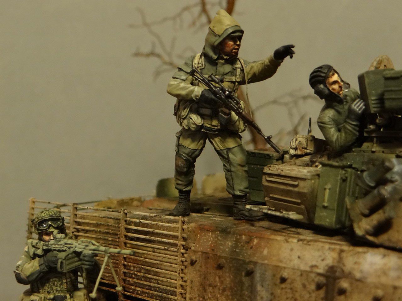 Dioramas and Vignettes: Russian spring, photo #8