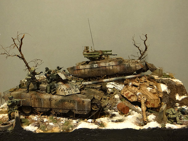 Dioramas and Vignettes: Russian spring