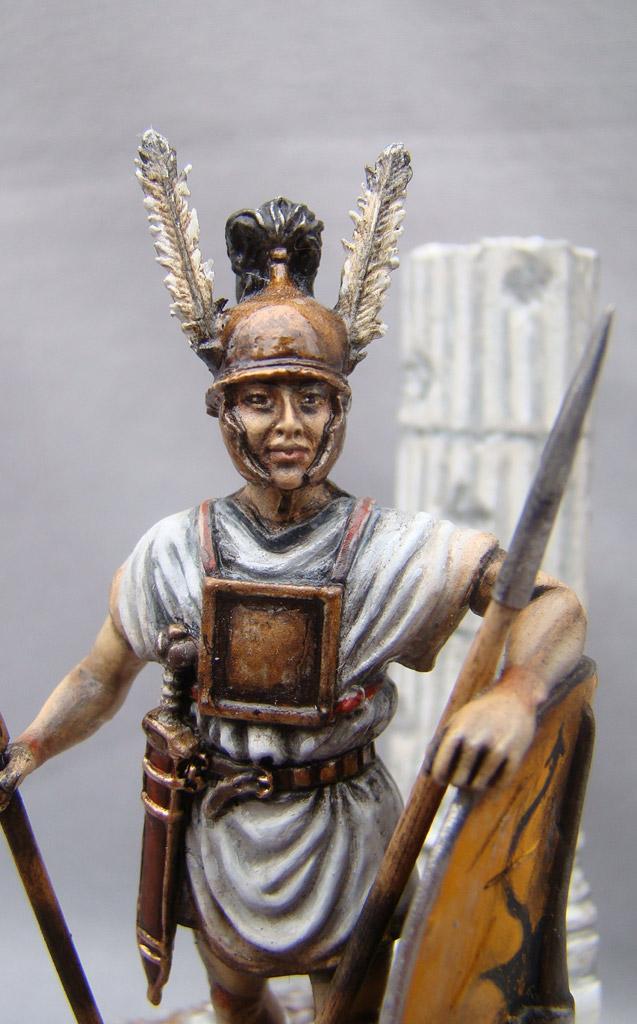 Figures: Roman legionary, Republican era, photo #4