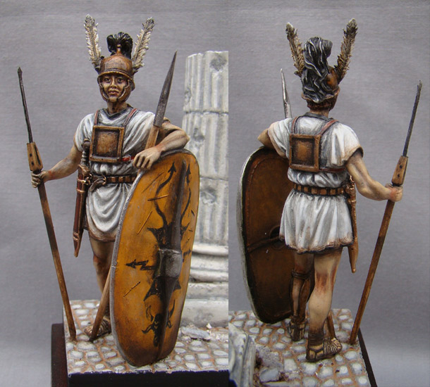 Figures: Roman legionary, Republican era