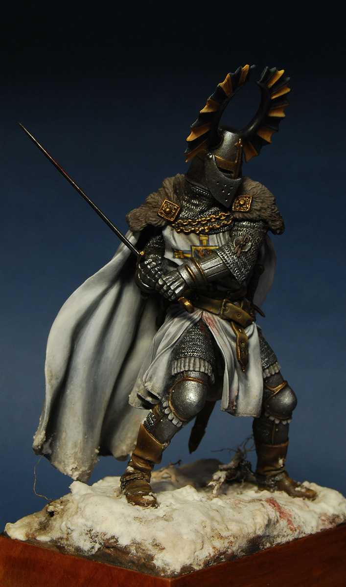 Figures: Teutonic knight, XIV cent., photo #8