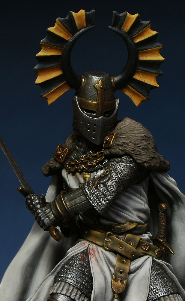 Figures: Teutonic knight, XIV cent., photo #9