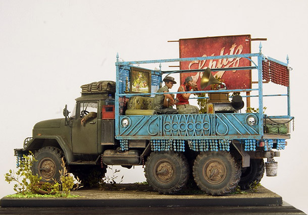 Dioramas and Vignettes: My Gypsy Road...