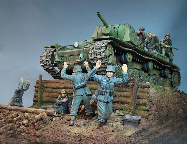 Dioramas and Vignettes: KV-1E