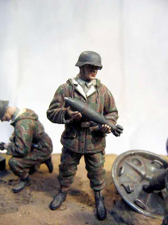 Dioramas and Vignettes: German Mortar Team, photo #11